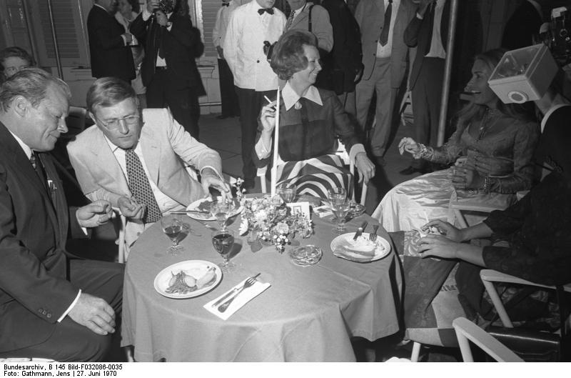 Sommerfest des Bundeskanzlers im Park des Palais Schaumburg