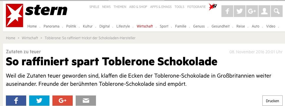 Toblerone Stern