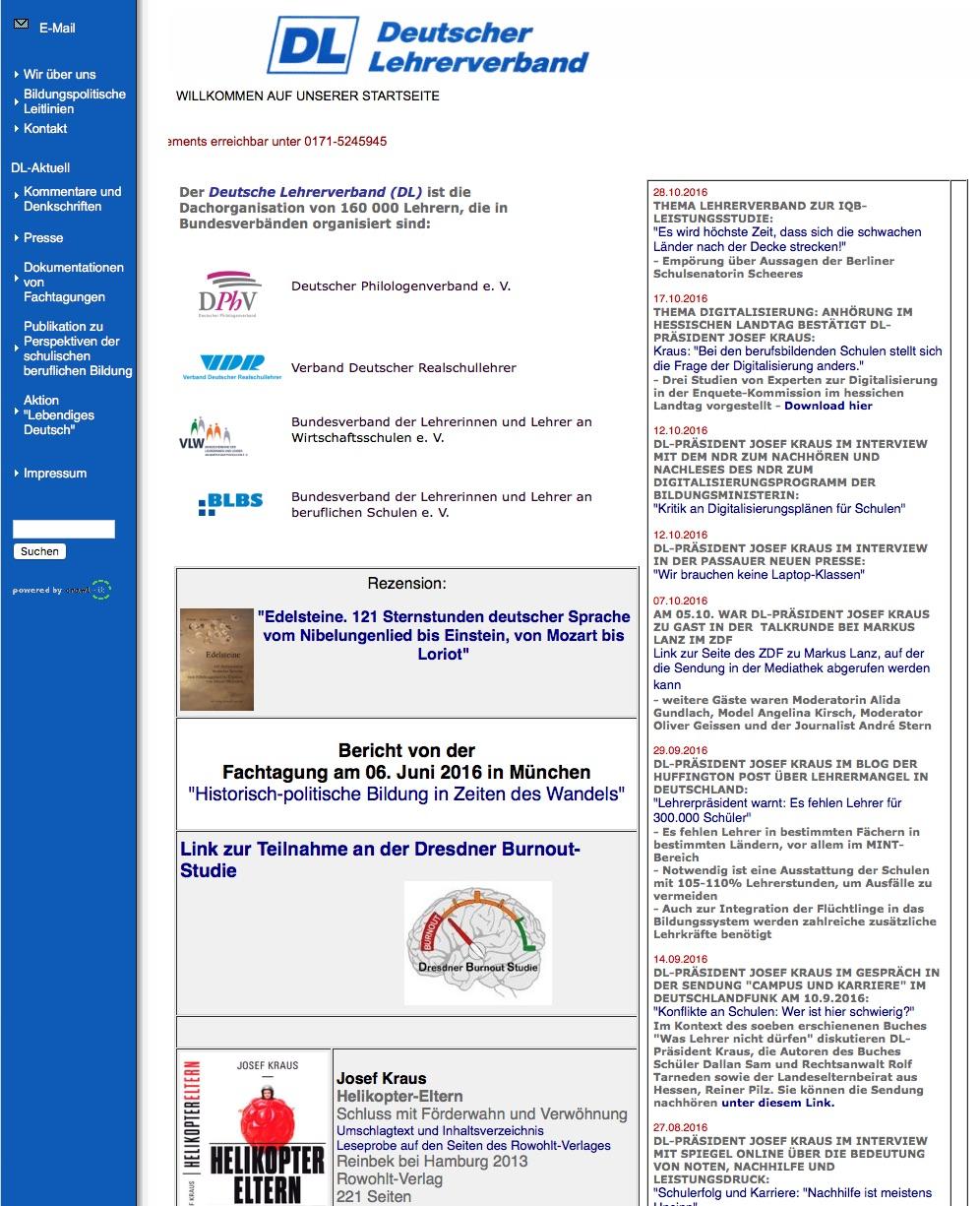 lehrerverband-homepage
