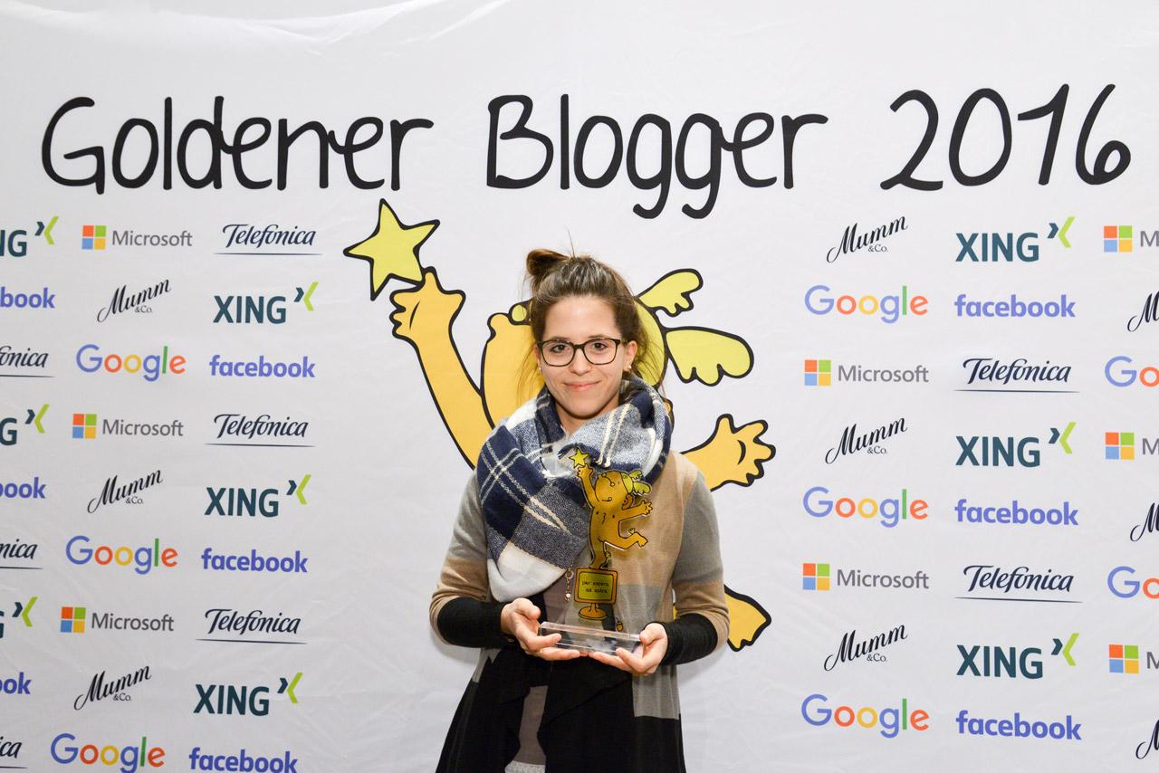 Fabienne Engels Goldene Blogger 2016 Freiknuspern