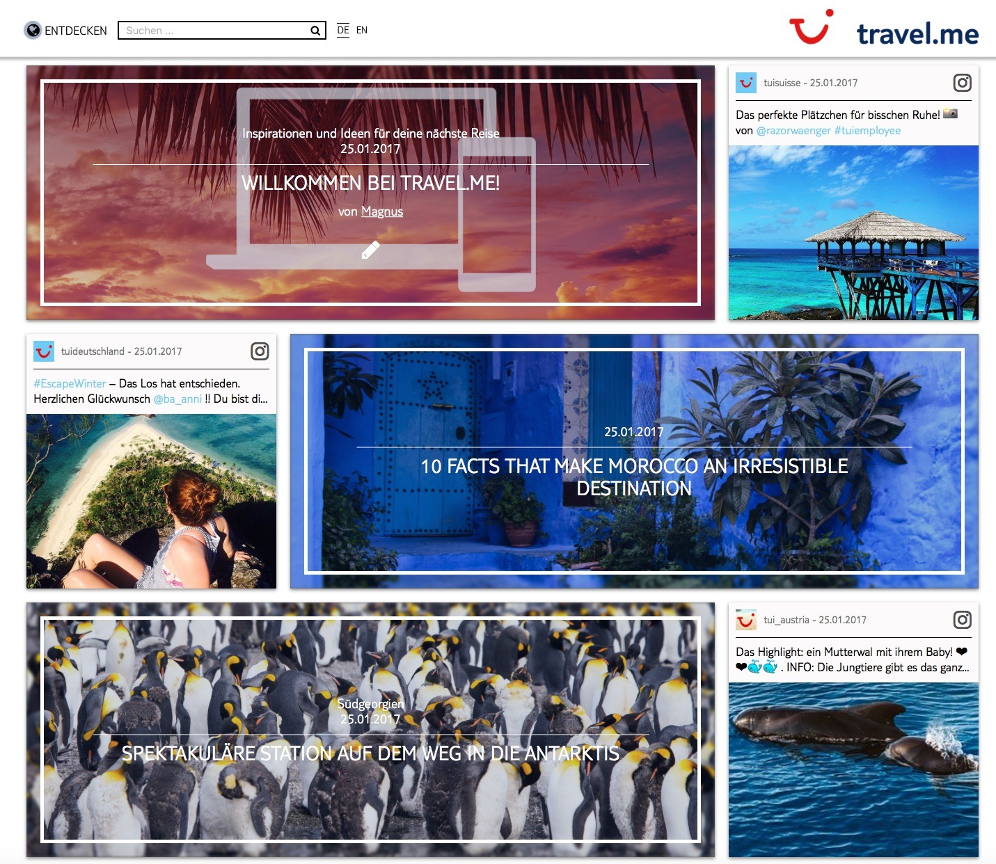 Travel.me TUI Content Marketing