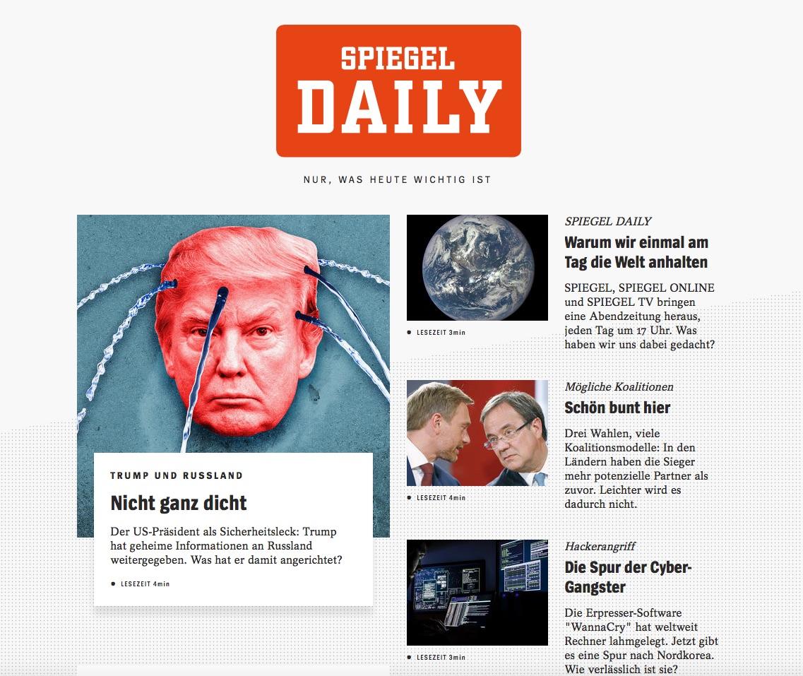 Spiegel daily die niedrigen erwartungen noch untertroffen for Spiegel daily
