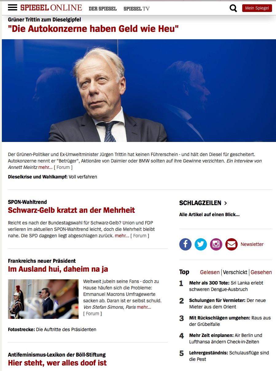 Www Spiegel Online De Nachrichten