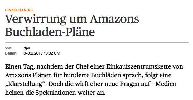 Handelsblatt Amazon