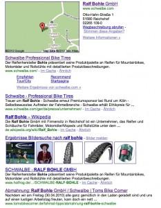 Google Ralf Bohle Schwalbe Toms Bike Corner