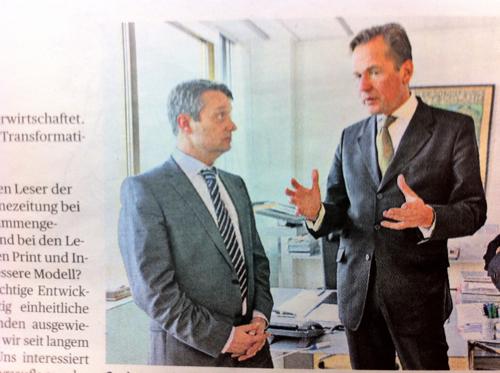 Gabor Steingart & Matthias Döpfner