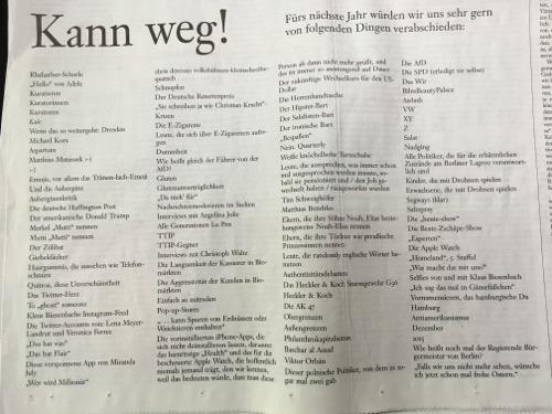 Frankfurter Sonntagszeitung