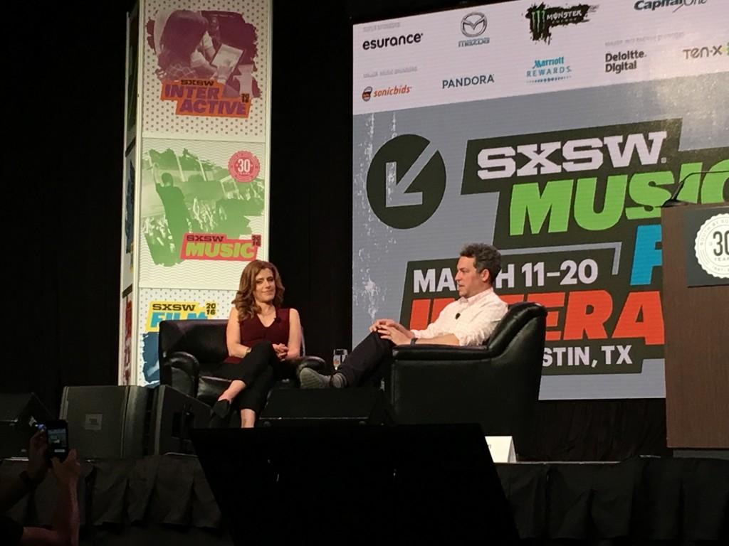 Julia Boorstin (CNBC) interviewt Vox-Chef Jim Bankoff.
