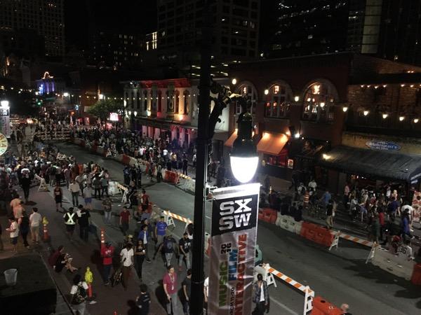 SXSW 2016 Sixth Street