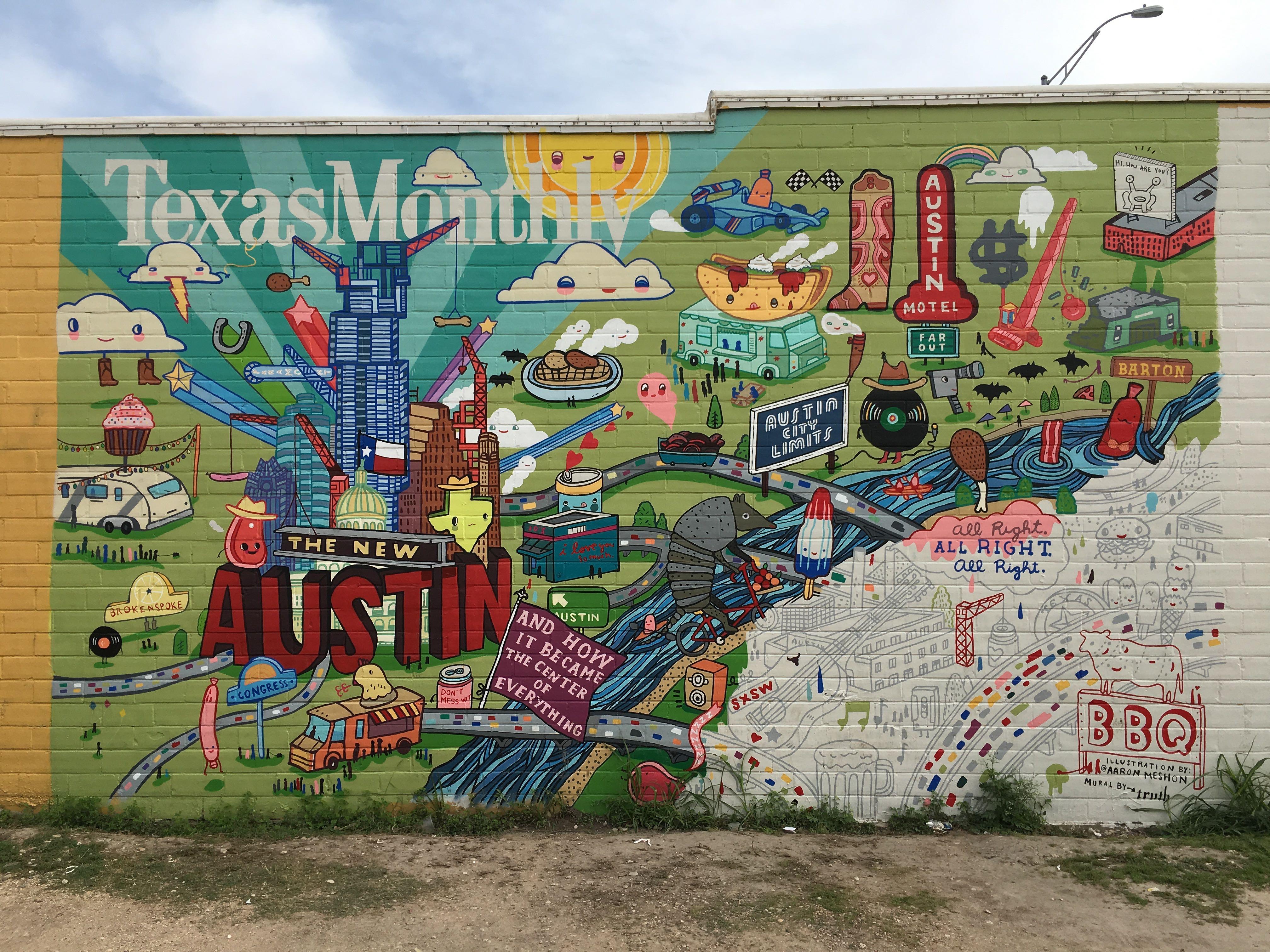 Austin Mural South Congress