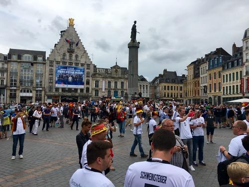 Lille Grand Place Deutschland Ukraine