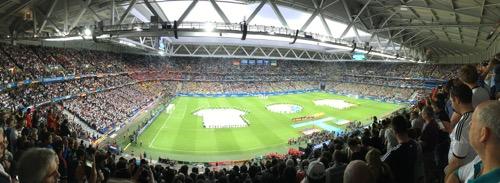 Lille Stade euro2016 Deutschland -Ukraine