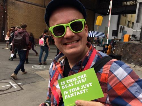 Daniel Fiene auf der #rp13 Hans Freitag Likies