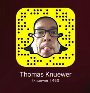 Snapchat Thomas Knüwer