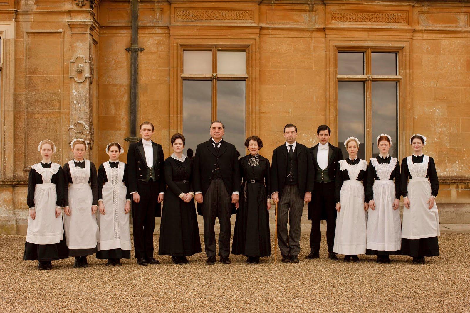 downton abbey butler service