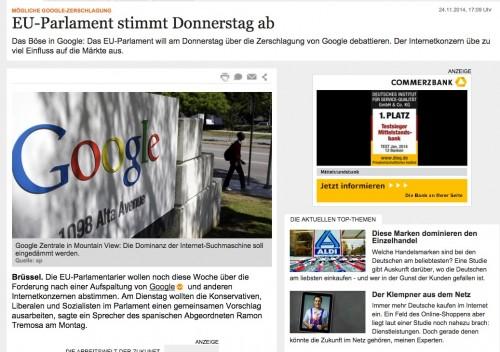 handelsblatt google