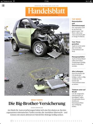 handelsblatt live titel