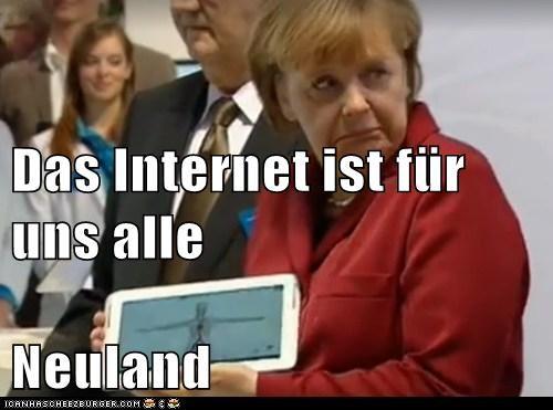 internet neuland merkel