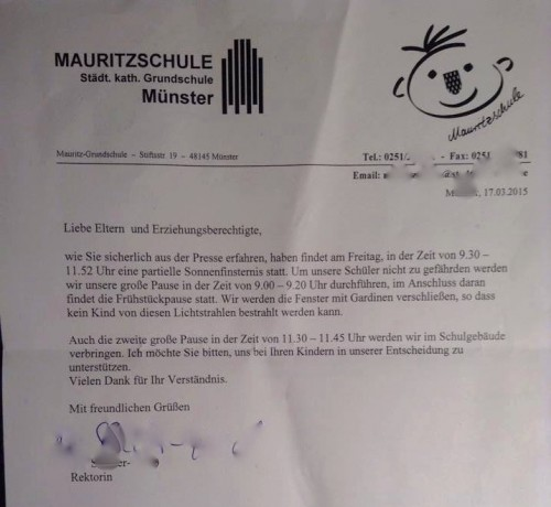 mauritzschule sonnenfinsternis