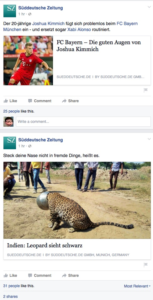 süddeutsche facebook fail