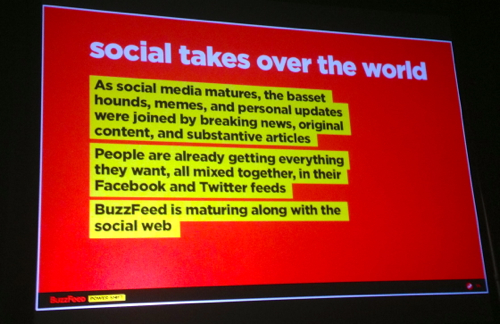 social takes over
