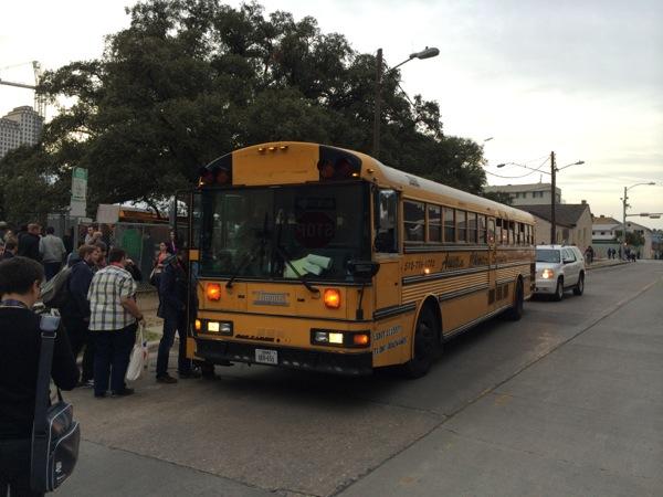 sxsw bus